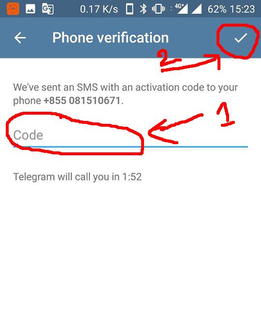របៀប បង្កើត គណនី Telegram ច្រើន